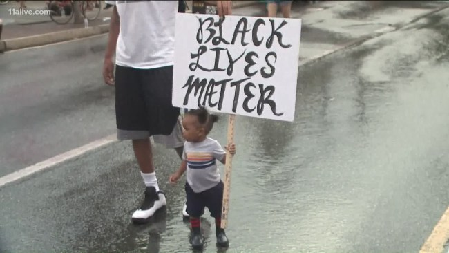 Black Lives Matter protest in Atlanta