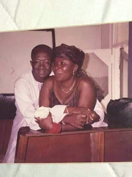 Kofi Adda and Patricia Tangoba Abayage