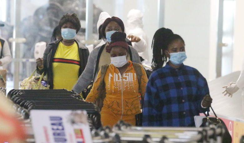 Ghanaian returnees from Kuwait