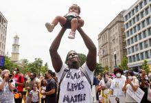 #BlackLivesMatter protest in Washington