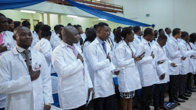 Newly qualified doctors