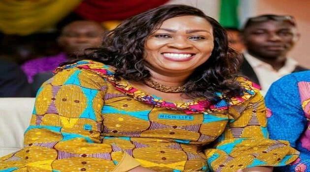 Mavis Hawa Koomson, MP for Awutu Senya East