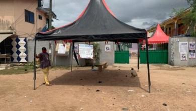 Registration centre at Kasoa