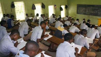 WASSCE students sit WAEC exam