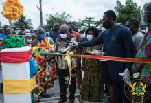Akufo-Addo commissions water systems