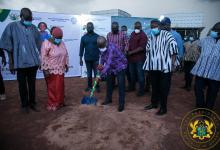 Photo of President Akufo-Addo cuts sod for US$223 million Tamale water project