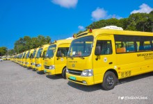 Photo of Government presents 12 buses to senior high schools in Upper West