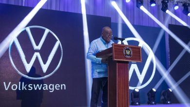 President Akufo-Addo at the VW launch, 3.8.2020