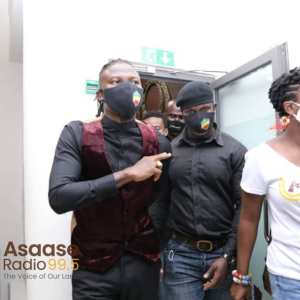 Asaase Sound Clash: Stonebwoy arrives