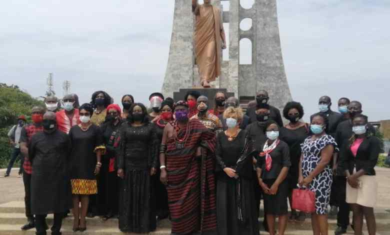 Marking Emancipation Day 2020 at the Kwame Nkrumah Mausoleum