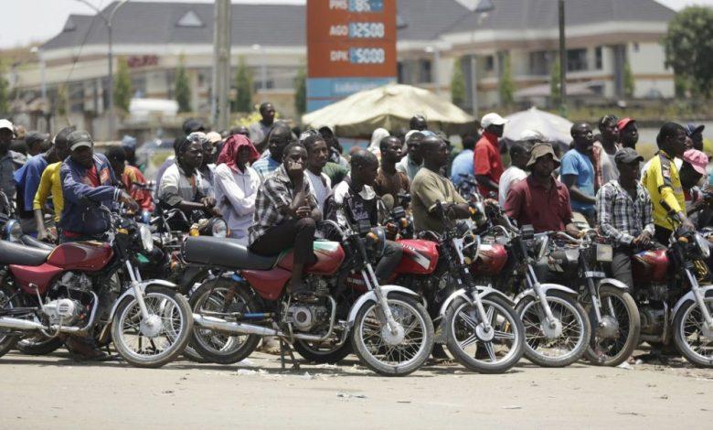 Okada riders, DVLA