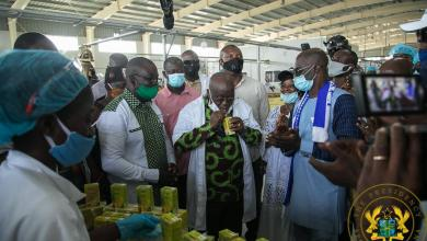 Photo of 1D1F: President Akufo-Addo commissions Ekumfi Fruits & Juices factory