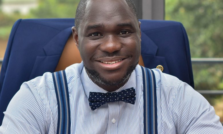 Palgrave Boakye-Danquah, founder and executive director of Kandifo Institute