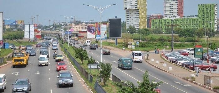 Roads in Accra