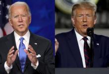 Joe Biden versus Donald Trump