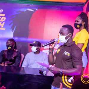Asaase Sound Clash launch: Elvis Crystal with Stonebwoy