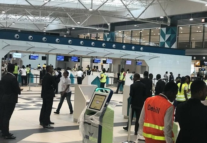Kotoka International Airport (KIA), COVID