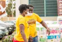 Asaase Sound Clash visit to Ashaiman Polyclinic, 9.9.2020