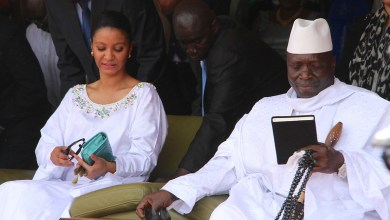 Photo of Former first lady of Gambia sanctioned by US