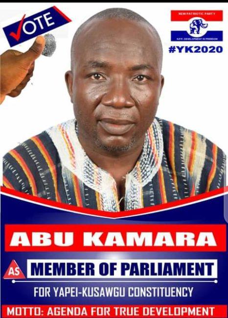 Abu Kamara, NPP candidate, Yapei Kusawgu