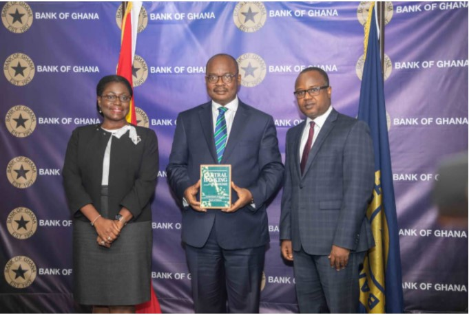 Bank of Ghana wins Central Banking award