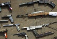 Illegal firearms: locally made shotguns