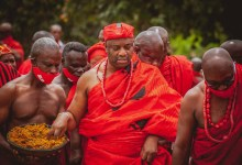 Photo of Ga Mantse preaches peaceful elections and unity in Ga State