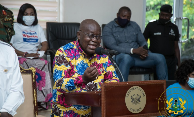 President Akufo-Addo addresses the Ga Regional House of Chiefs