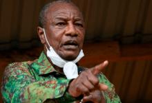 President Alpha Condé, Guinea