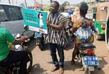Photo of NDC youths light up Wa with novel campaign tactics