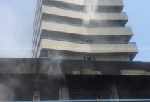 Photo of VIDEO: GCB Bank at Kantamanto on fire