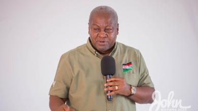 "Photo of Your ""stupidity"" outburst uncharacteristic of a presidential candidate, Gyampo to Mahama"