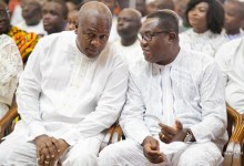 John Mahama and Ofosu Ampofo of the NDC
