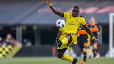 Photo of Mensah thrilled after hitting a 100-game feat at Columbus Crew