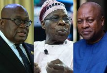 Photo of Election is not war, Obasanjo tells Akufo-Addo, Mahama