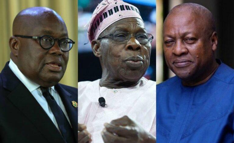 Obasanjo, Akufo-Addo and Mahama