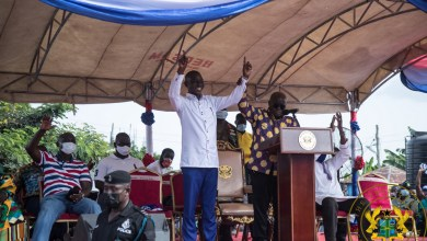 Photo of Ghanaians want progress, not a 'dumsor' leader, says Akufo-Addo