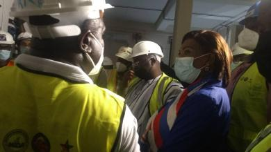 Photo of Bawumia inspects progress of work on Pokuase Bulk Supply Point