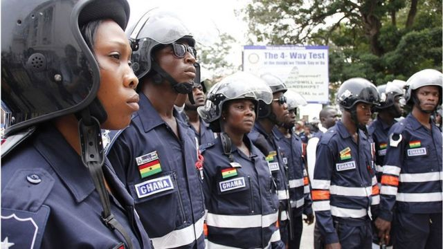 security services police