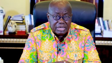 President Akufo-Addo addressing Ghanaians on Christmas eve