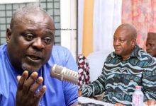 Koku Anyidoho and John Mahama