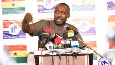 John Boadu, General Secretary of the NPP