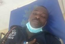 Assaulted police officer at Ajumako