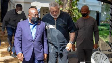 Jerry Rawlings and Nana Akufo-Addo