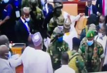 Military in parliament