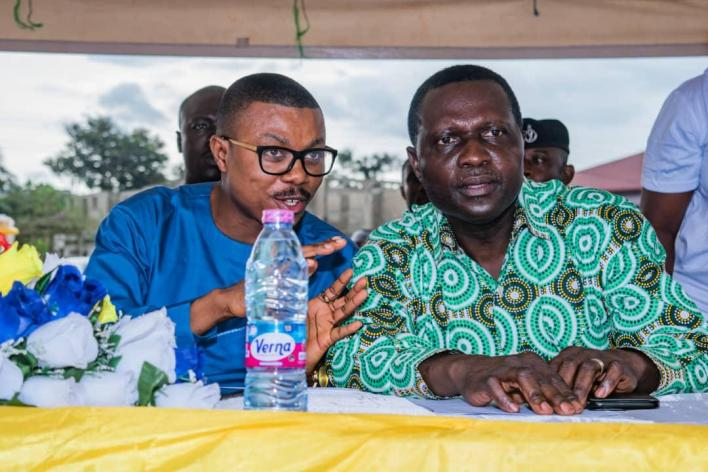 Dr Prince Hamid Armah and Dr Yaw Osei Adutwum
