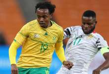 Ghana Black Stars Wakaso against South AFrica