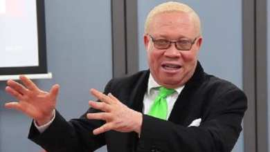Moses Foh-Amoaning, a former sportscaster and law school tutor is the most vocal proponent against LGBT humanity in Ghana. The social fact of Foh-Amoaning's albinism is not lost on many Ghanaians who point out that in parts of the continent others like him are fighting for their humanity. Photo Credit: Adomonline.com