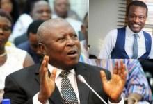 Martin Amidu and Kissi Agyebeng