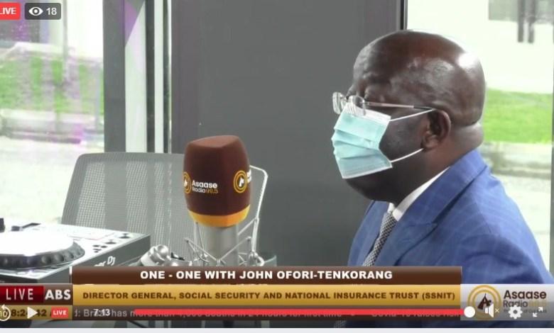 SSNIT CEO, John Ofori-Tenkorang
